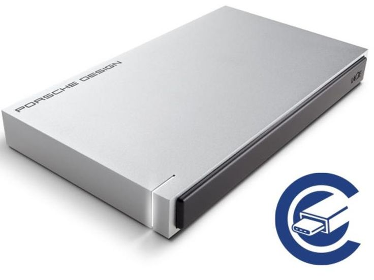 LaCie, the premium brand of Seagate Technology, announced the addition of USB-C technology to its Porsche Design Mobile Drive, making it the perfect match for Apple's new MacBook.