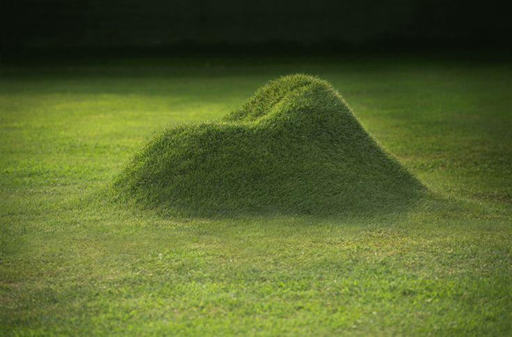 TERRA! is een luie stoel van gras
