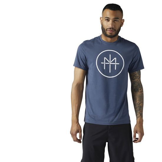 Reebok - LES MILLS Dual Blend Tee: You need a tee that can keep up wherever you go. Perfect for the gym or everyday wear, this LES MILLS t-shirt is up for the challenge, equipping you along your journey with classic comfort and go-to style.