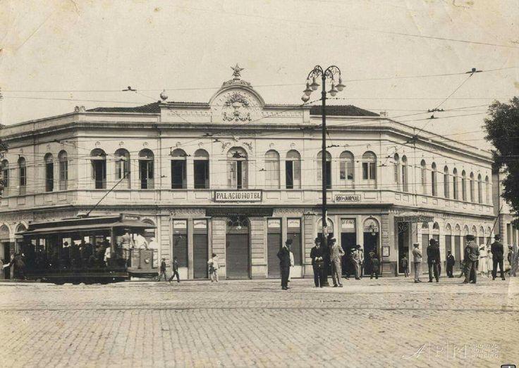 Av. Afonso Pena com Rua da Bahia, 1920