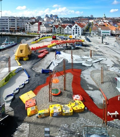Artful Playscapes | Geopark, Stavanger, Norway
