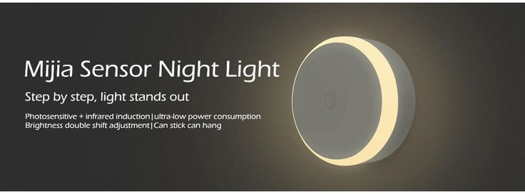 Originaler Xiaomi MiJIA LED Smart infraroter Mensch Körper Bewegungssensor dimmbares Nachtlicht für Haus