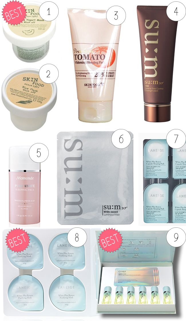 best korean products for dull, uneven skin