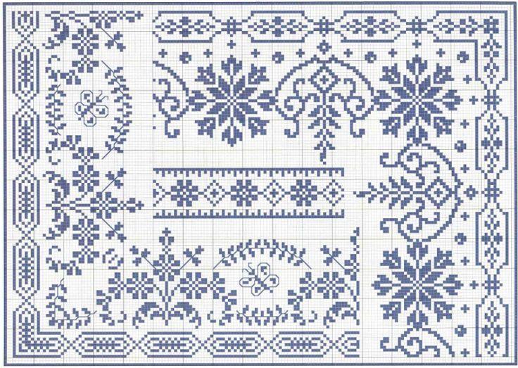 Bellissimo sito russo con molti schemi per punto croce. Good russian site with many cross stitch free chart