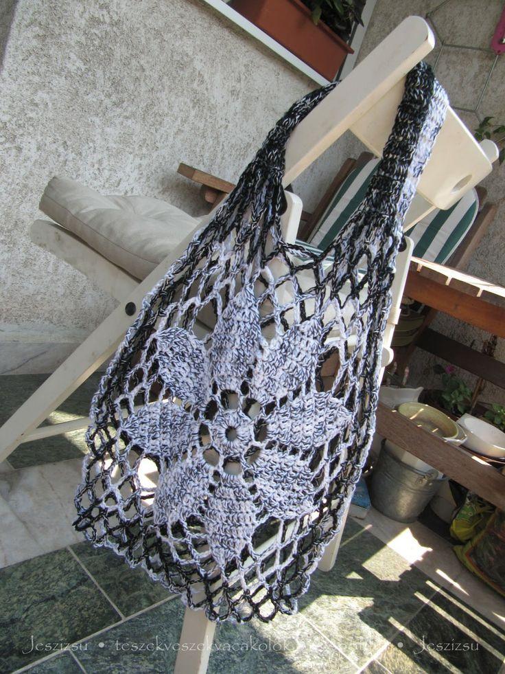 326 best Häkeln Tasche & Co - crochet tote bag & Co images on ...