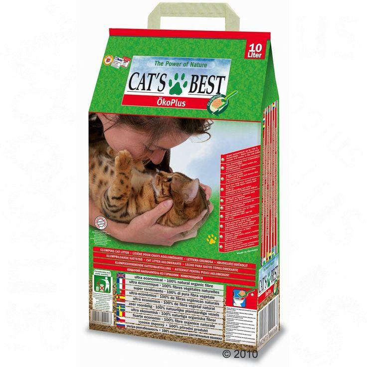 Animalerie  Litière Cats Best Öko Plus pour chat  40 L (environ 18 kg)
