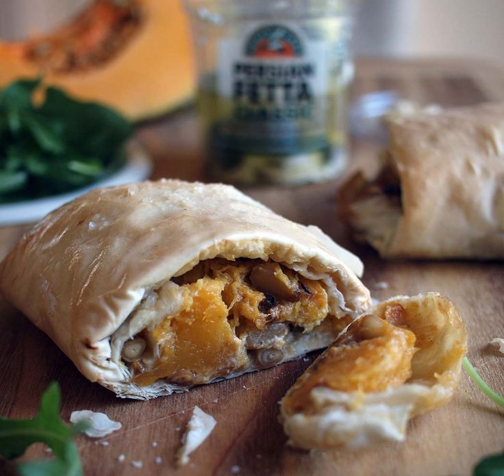 pumpkin-feta-and-pine-nut-filo-parcels