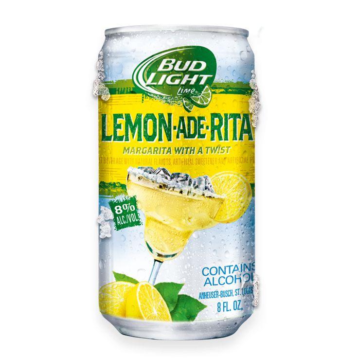 Bud Light Ritas - Beer Margarita - Flavored Beers
