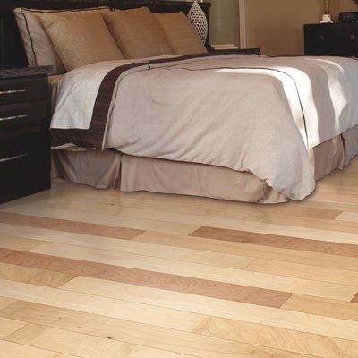 "Mohawk Randhurst Map SWF 3-1/4"" Solid Oak Maple Hardwood Flooring in Pure Natural"