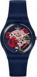 Swatch Porticciolo Blue Rubber Strap GN239