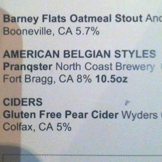 New favorite beer at Eureka!!
