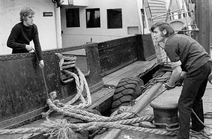 Royal Daffodil .. at the landing stage .. 1972 .