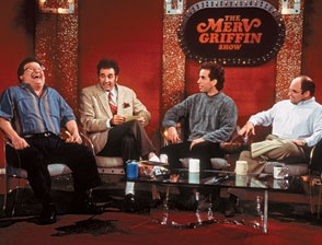 Seinfeld does Merv Griffin. One of the best.