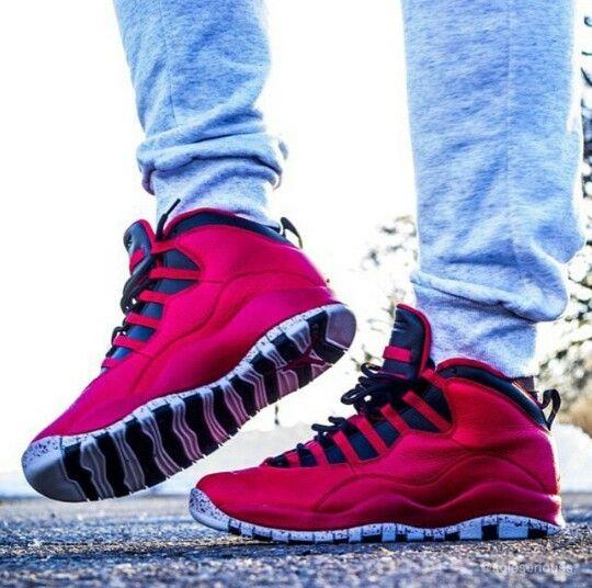 d566edcda6af76 ... Bulls over Broadway On feet Look - YouTube  Air Jordan 10 ...