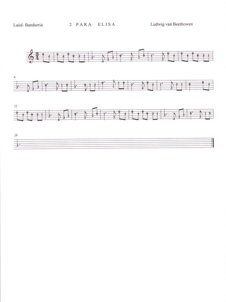 Para Elisa.- Ludwing van Beethoven