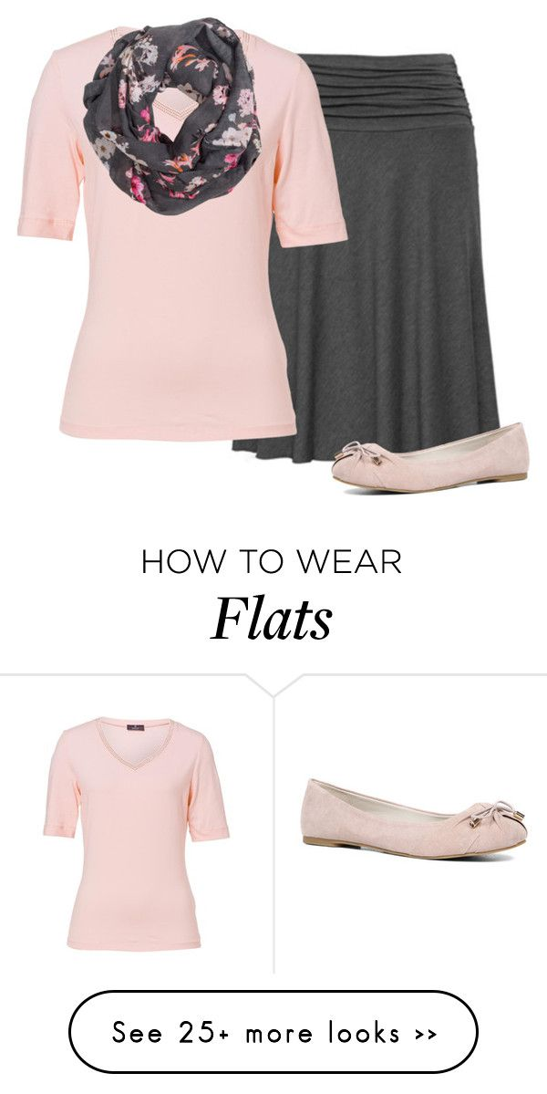 """Light pink and Grey. ~Grace"" by isongirls on Polyvore featuring Basler, H&M and ALDO"