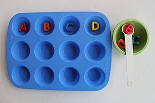 Tot trays - ABCD letter review