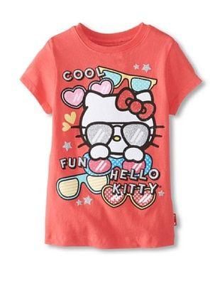 50% OFF Hello Kitty Girl's 2-6X Sunglass Tee (Paradise Pink)