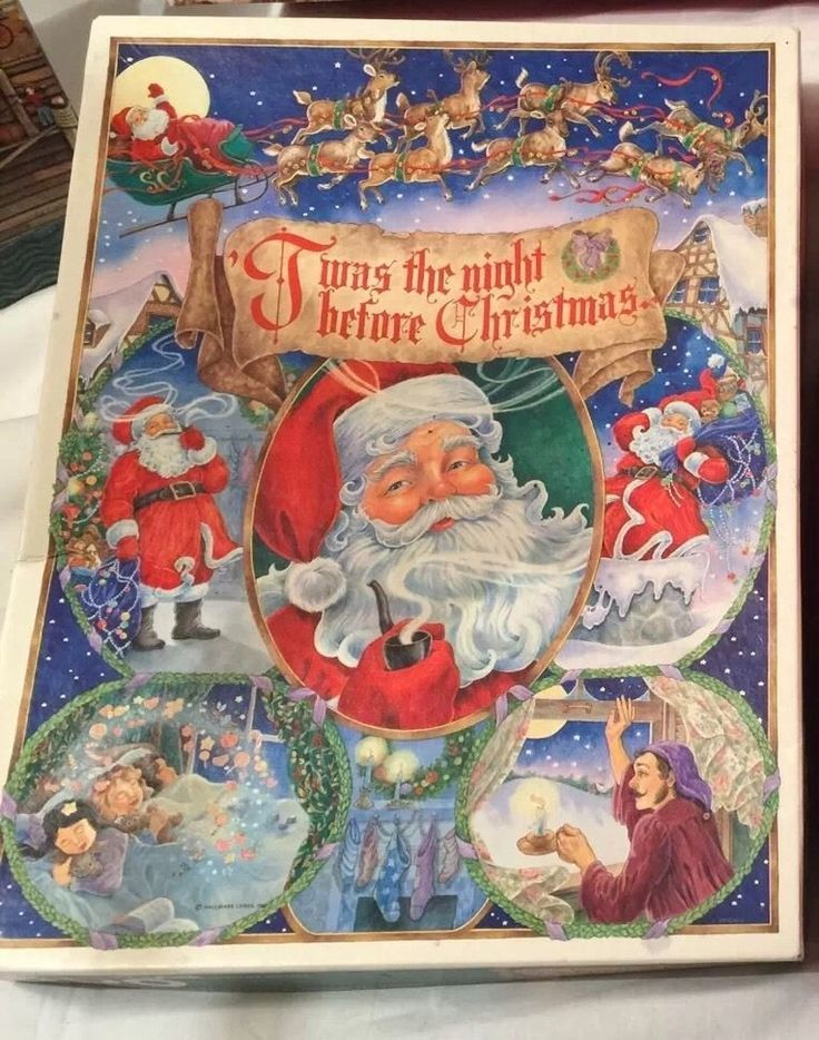 Sprinbok Jigsaw Puzzle Twas The Night Before Christmas The Night Before Christmas Twas The Night Jigsaw Puzzles