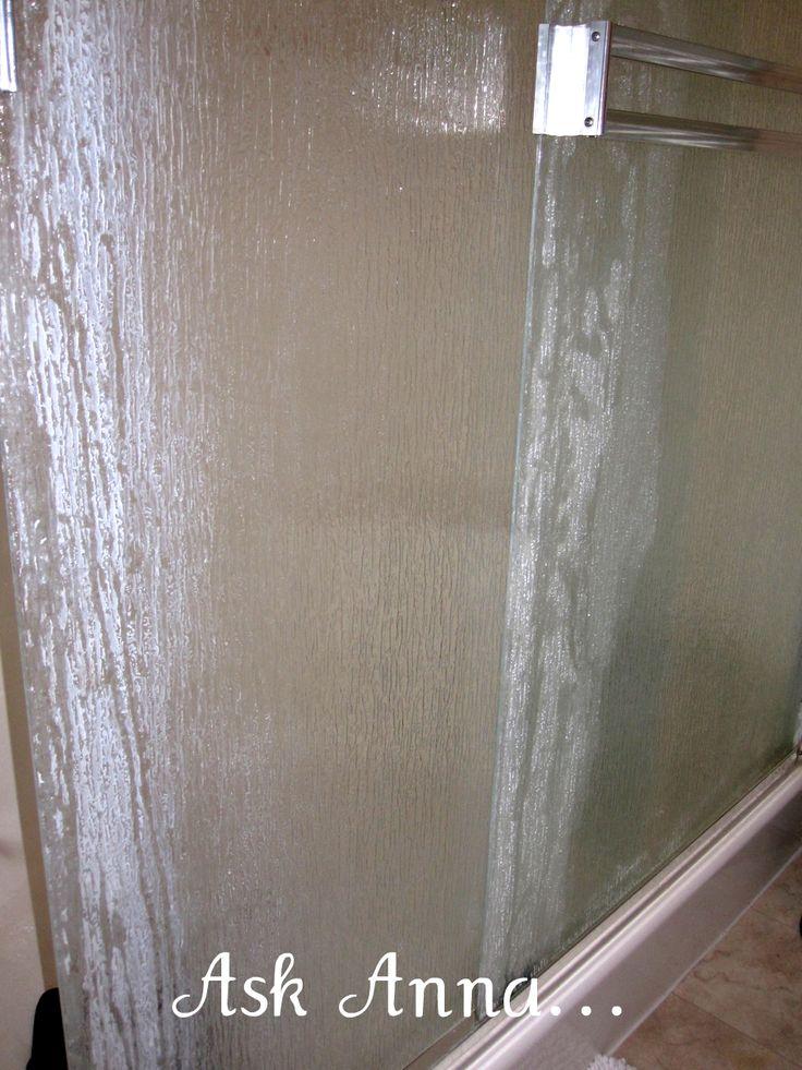 How to Clean Shower Door Soap Scum