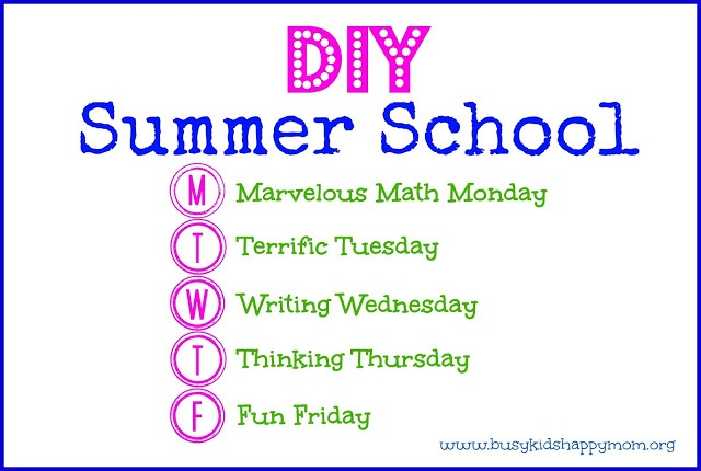 Do-It-Yourself Summer School: How to stop summer learning loss with this simple plan to help your child in just 20 minutes a day. Free. busykidshappymom.org