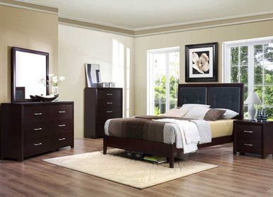4 pc homelegance edina collection espresso queen size bedroom set limited time pricing