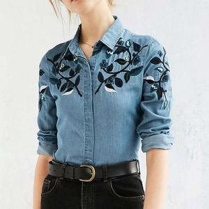 Urban Outfitters Tops - BDG Urban Outfitters Western Button-Down