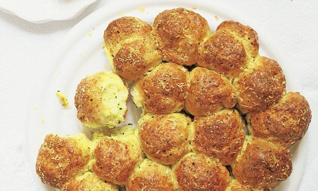 These deliciously cheesy scones would be lovely for lunch to accompany soup