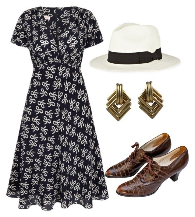"""""""1930s Women's Fashion"""" by sarelle-20 ❤ liked on Polyvore"""