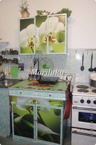 Декор предметов Декупаж Моя обновленная кухня  Бумага фото 2