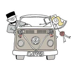 25 best VW Beetle wedding images on Pinterest