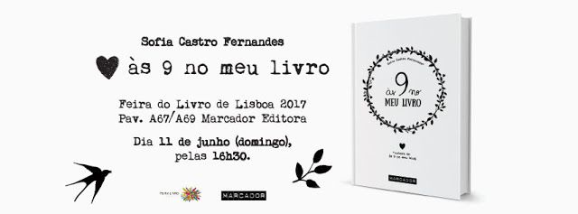Sinfonia dos Livros: Agenda Marcador   Feira Livro Lisboa 2017