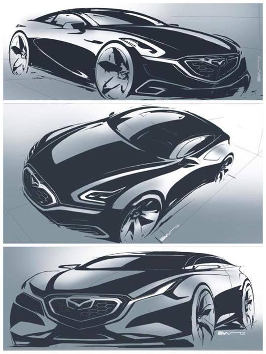 Mazda concept sketch