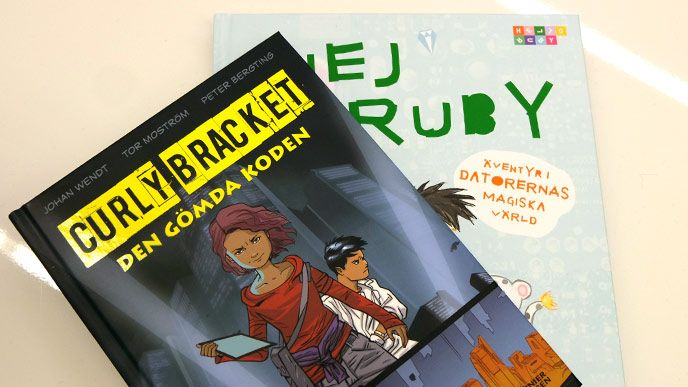 Serietidningar som ska locka till intresse för kodning