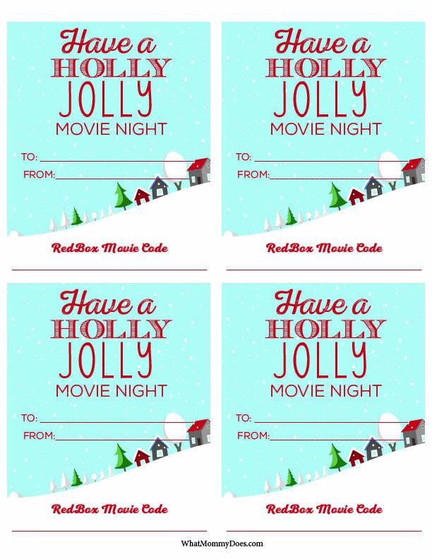 Cute Redbox Neighbor Christmas Gift Idea -