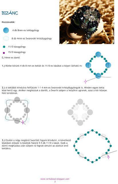 Ékszerkészítési útmutatók-tutorialok gyűjtőhelye: Verka bemutatkozásaként egy csokorra való gyűrű