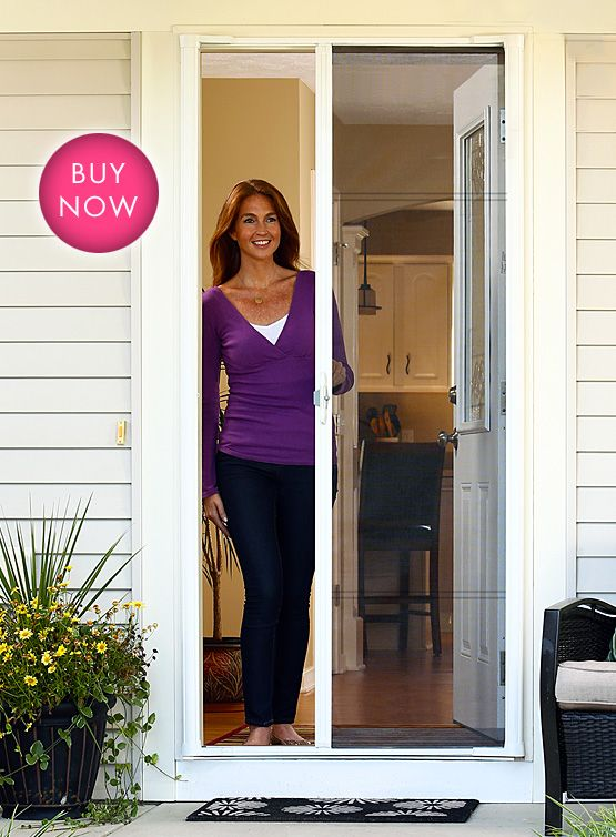 ODL Brisa Retractable Screen Doors | Love these things!