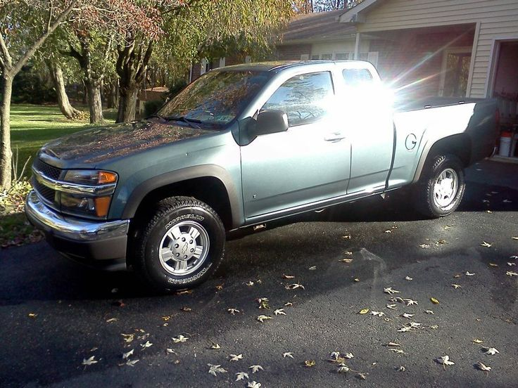 My 2006 Chevy Colorado extended cab.
