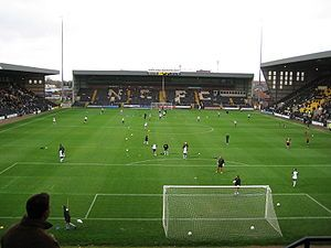 Meadow Lane, home to the world's oldest professional football club | Notts County | Nottingham, England