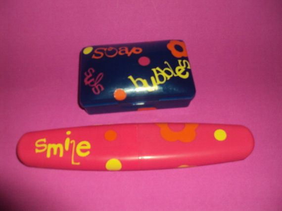 Travel soap toothbrush holder for camp by 417favorsgiftsdecor, $6.00