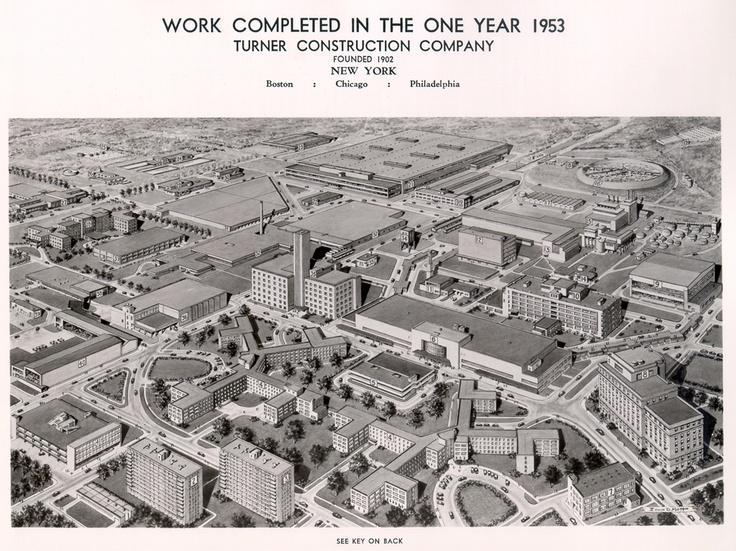 Turner City 1953 City Construction Construction Company
