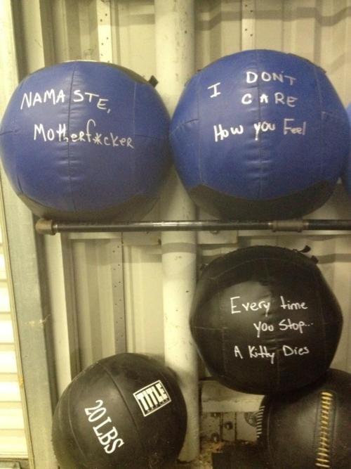Hate wall-balls!
