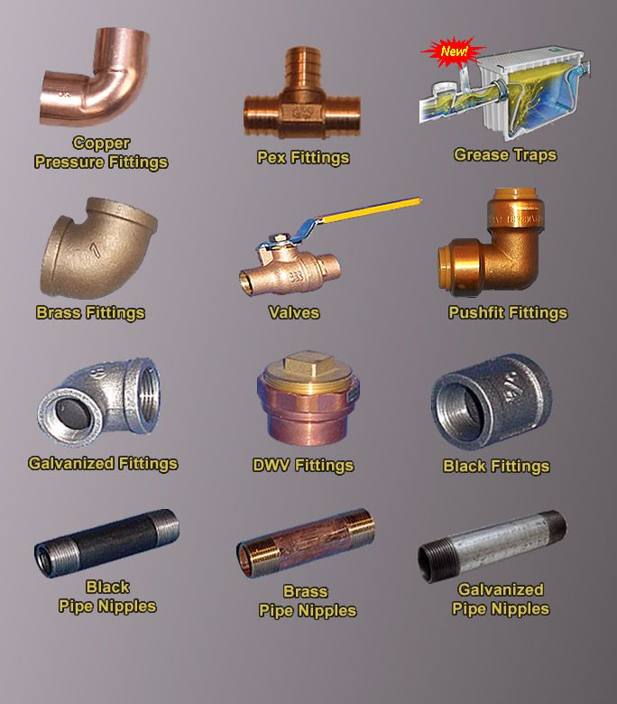 115 best images about plumbing related on pinterest for Types of plumbing pipes materials