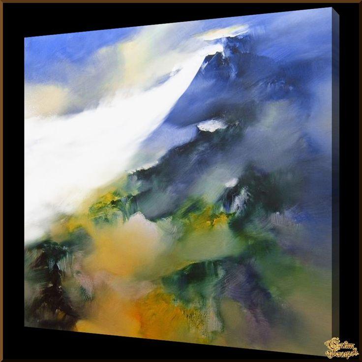 Abstract - 546 Абстракция, картины, картина маслом, сувенир, подарки