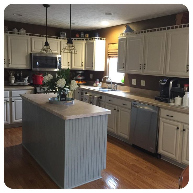 Made By Megg Kitchen Paint: Kitchen Cabinets Painted! Not Finished Yet But This Made