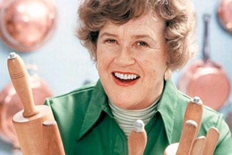 Julia Child ... The secret lies in the butter! You can NEVER have enough butter :)