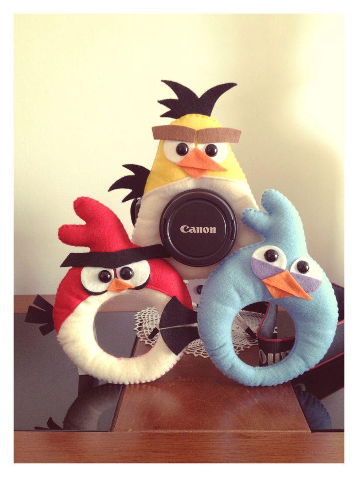 Chegou mais uma novidade para os fotógrafos!! Linha Angry Birds para lentes! contato@donalika.com.br