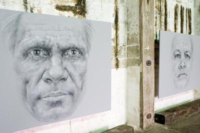 Vernon Ah Kee Work at the 2008 Sydney Biennale
