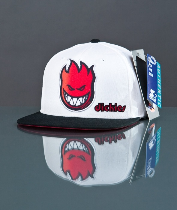 Dickies x Spitfire-SF Flame Snap Red