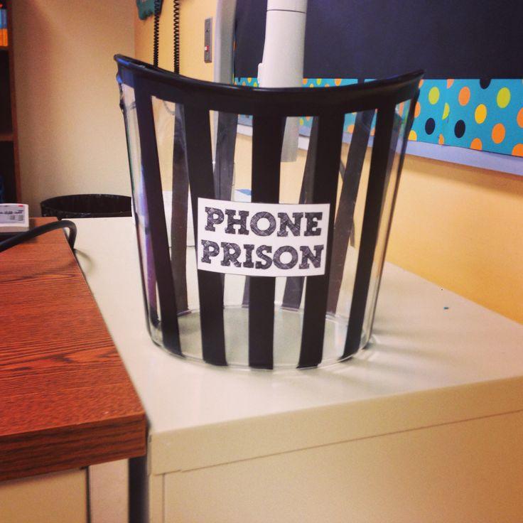 Phone prison :)